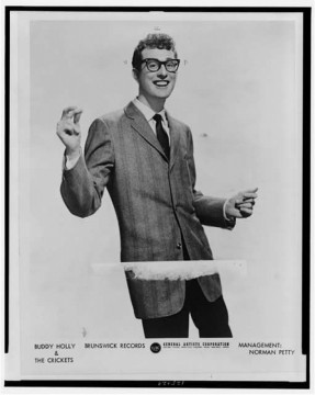 Buddy Holly publicity photo