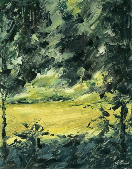 The Marsh in August, Close Up, by Elizabeth Hughes Bass