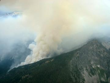 Kootenai Creek fire