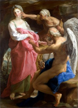 "Pompeo Batoni's ""Time Orders Old Age to Destroy Beauty"""