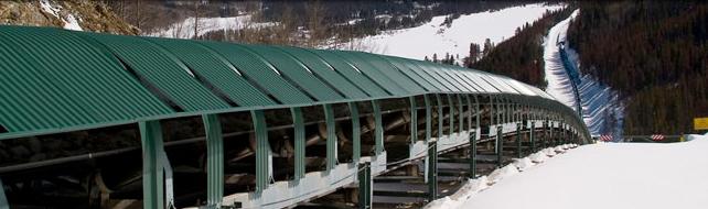 Henderson Mine conveyor