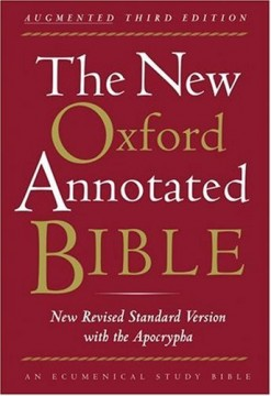 New Oxford Annotated Bible, cover