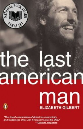 The last American man, book cover