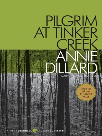 Pilgrim at TInker Creek, book cover