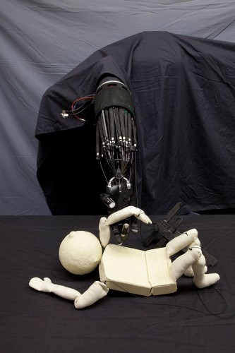 Puppet with Robotic Arm
