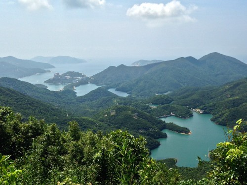 Hong Kong's rain water catchment reservoirs are surrounded by Country Parks.