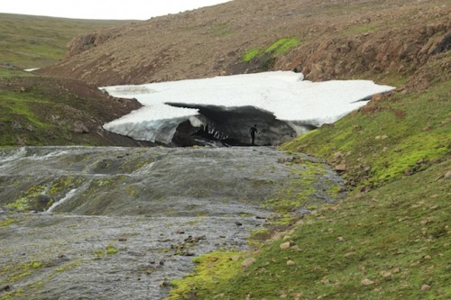 ice mass in the Westfjords