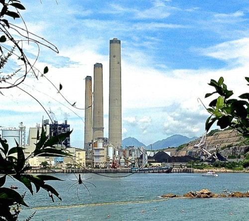 It takes a lot of coal when the Lamma Island power plant is operating at 100%