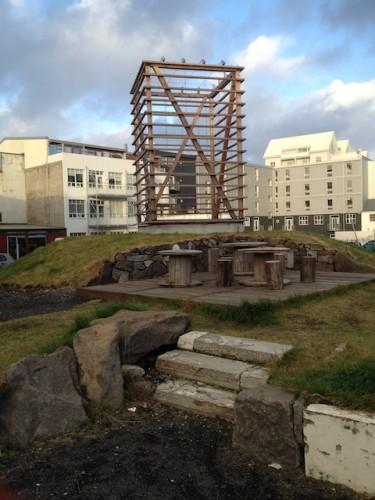 rek_theatre park with sculpture