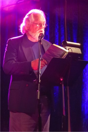 Robert Michael Pyle reading at KALA Gallery in Astoria, Oregon, in January 2015. Photo by Carol Newman.