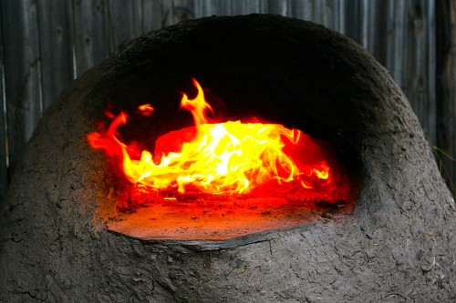 Oven and fire