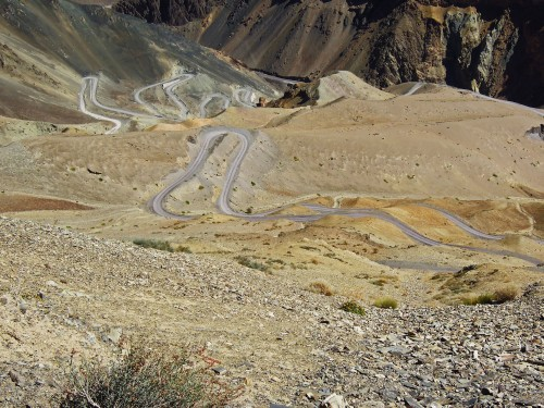 The road to Leh and the Western Himalayas.