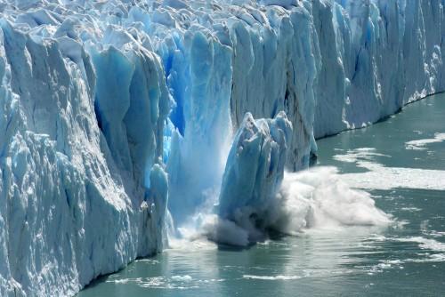 Glacial calving