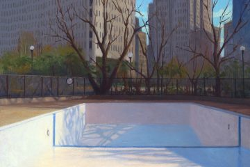 Poolscape 1, by Kristie Bretzke