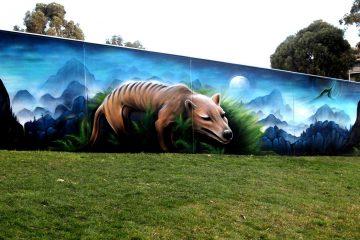 Mural by Jake Sevens.