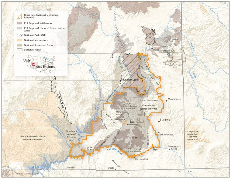 Public Lands Initiative map