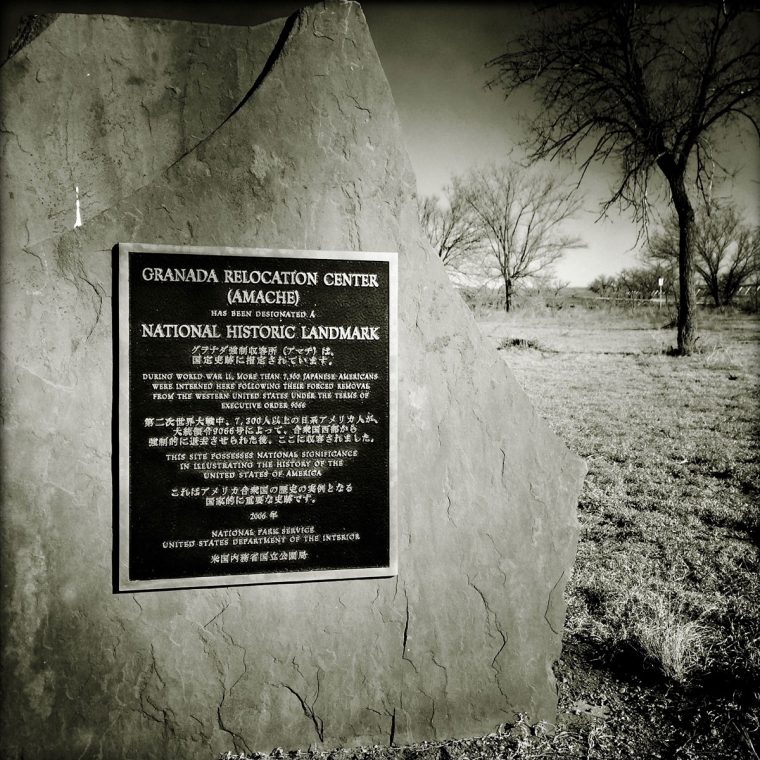 Amache historic marker. Photo by Sarah Skeen.
