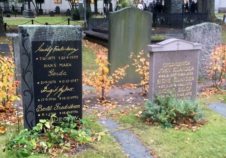 Cemetery in Stockholm