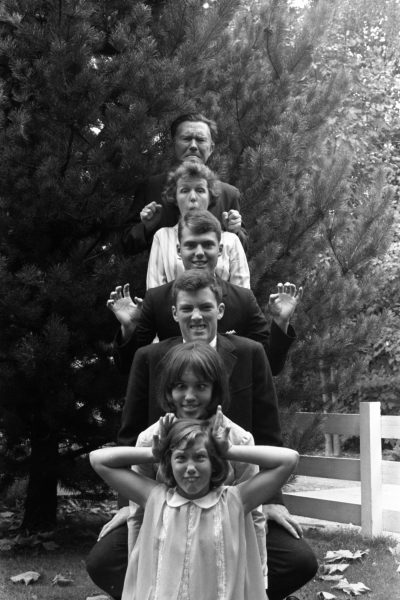 The Stafford family in 1967.