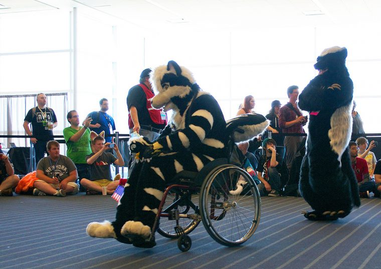 Furries in airport