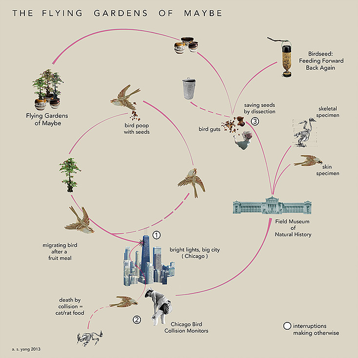 The Flying Gardens of Maybe Ecosystem