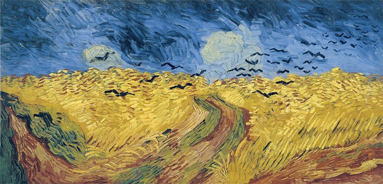 """""""Wheatfield with Crows"""" by Vincent Van Gogh"""