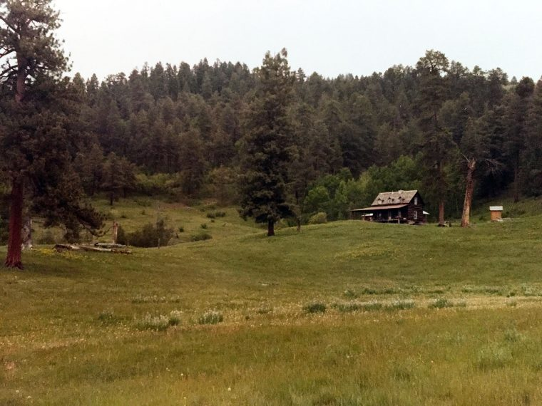 Oppenheimer's cabin in New Mexico
