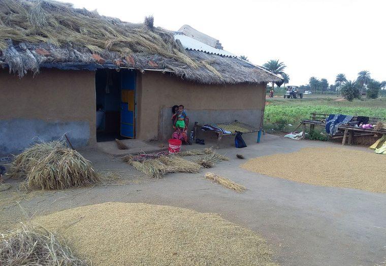 Jharkand, India, home.