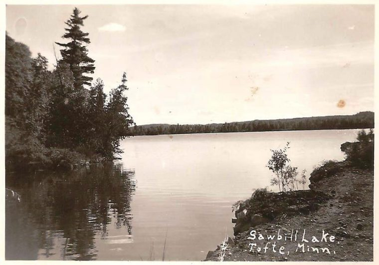 Historic photo of Sawbill Lodge