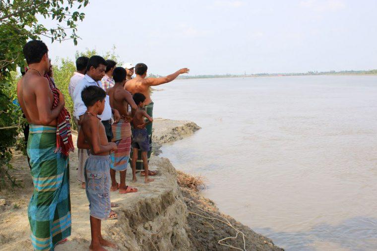 Residents of coastal Bangladesh