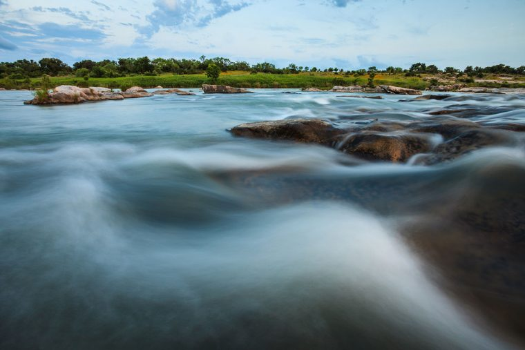 The Llano River, photo by Jerod Foster