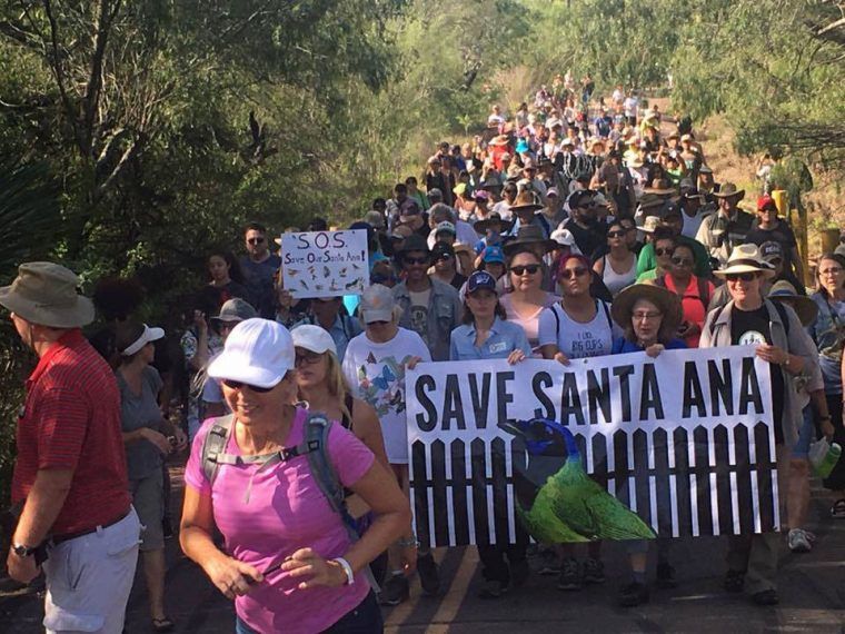 Save the Santa Ana march