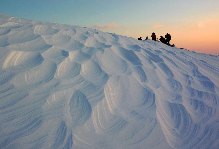 Snowdrift pattern