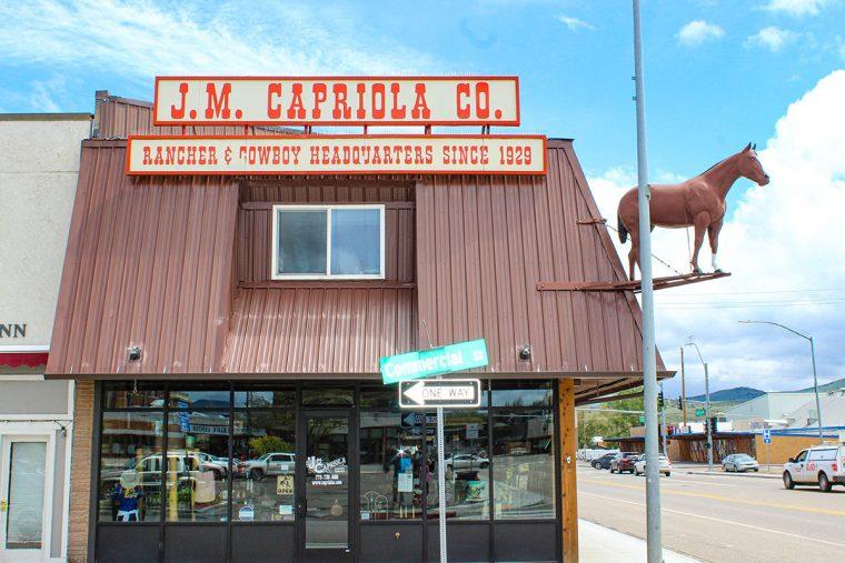 Exterior, J. M. Capriola's