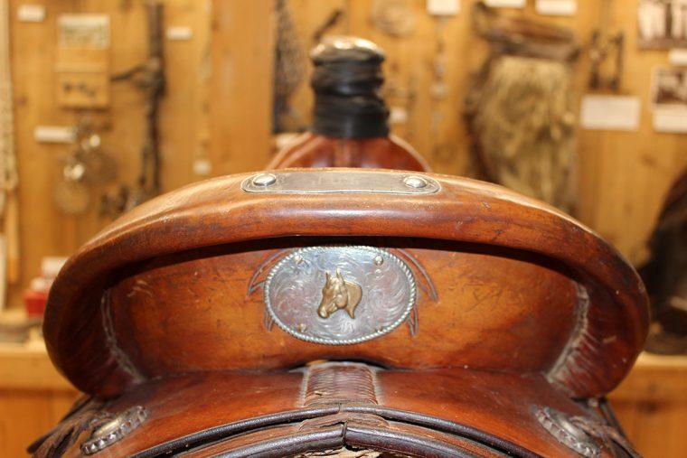 Custom saddles at Capriola's