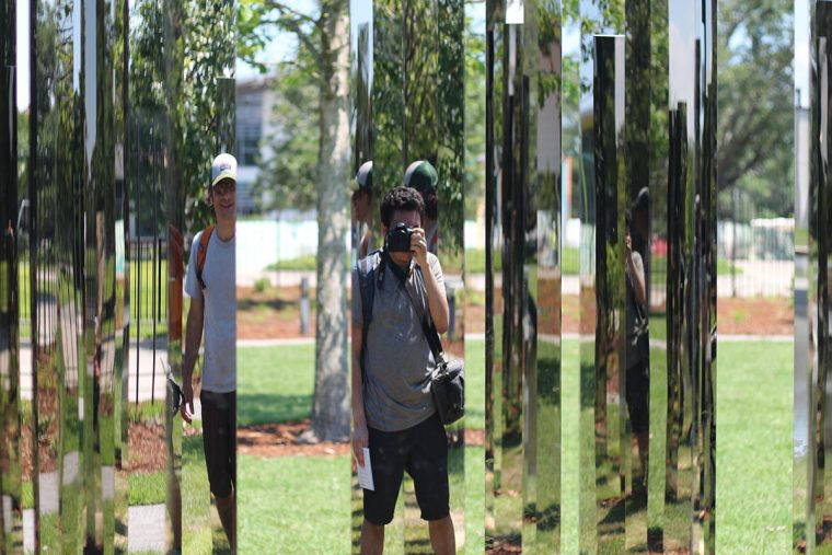 Mirror Labyrinth by Jeppe Hein