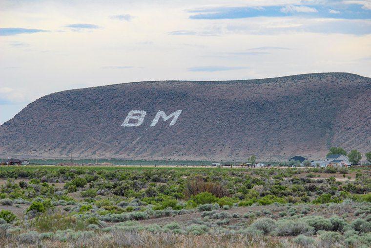 Signature hillside, Battle Mountain