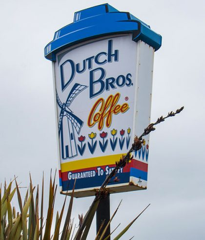 Dutch Bros. sign