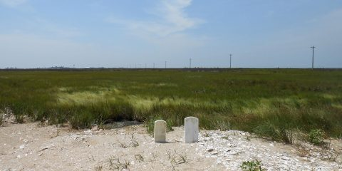 Tombstones by the Sea, by Rick Van Noy
