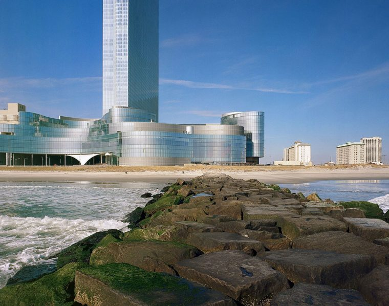 Revel, the failed casino, and beach
