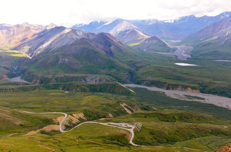 Denali National Park panorama