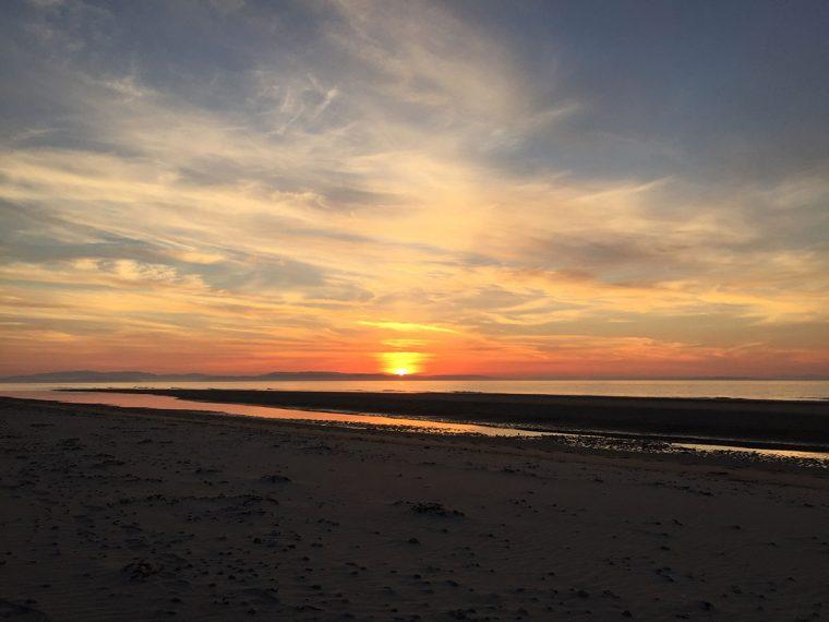 Sunset at Culbin