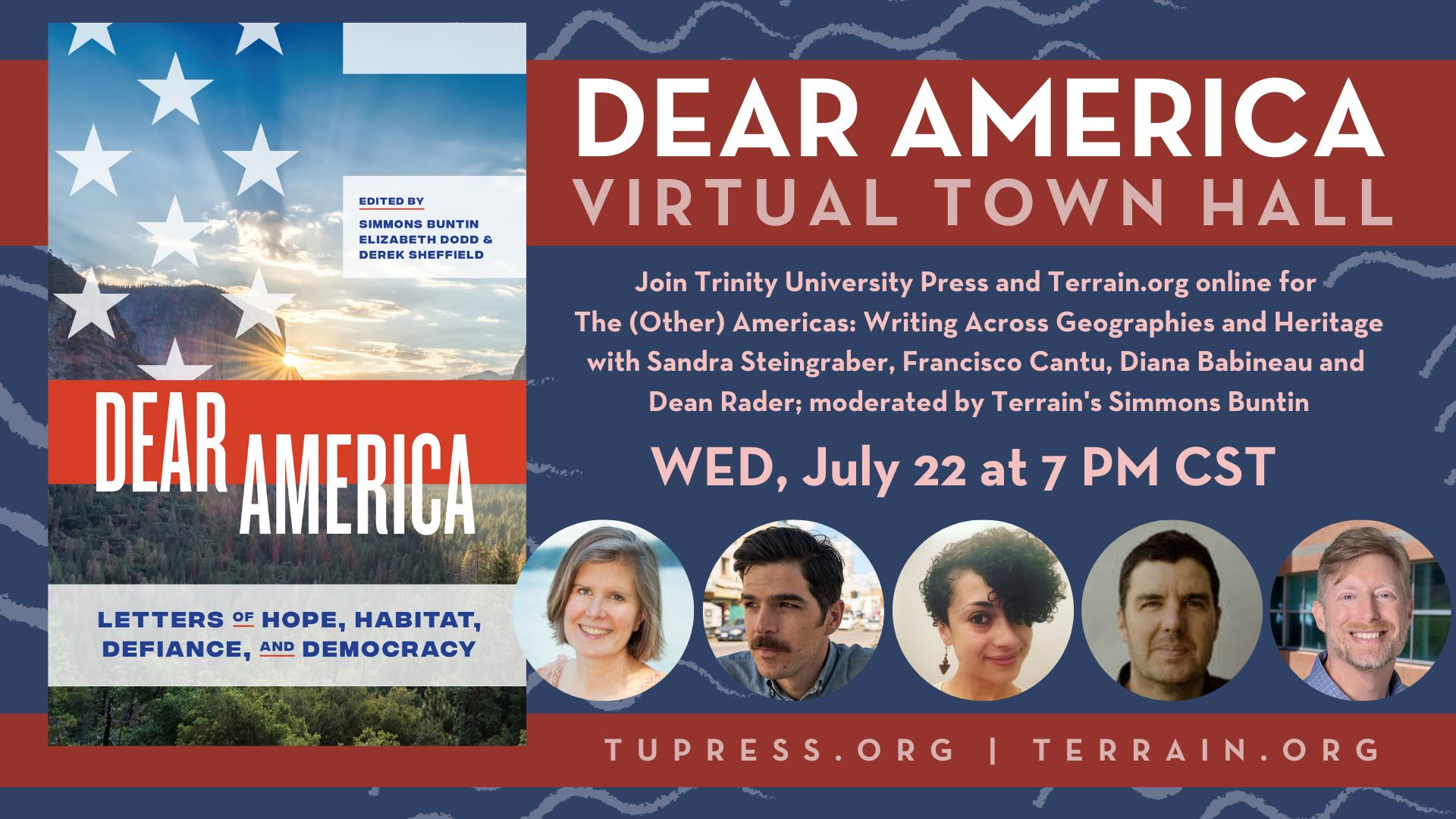 Dear America Virtual Town Hall, July 22, 2020